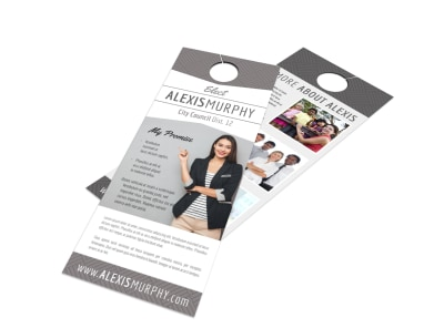 Campaign Door Hanger Template nucwj6e3d4 preview