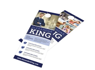 Campaign Door Hanger Template ect251pg3l preview