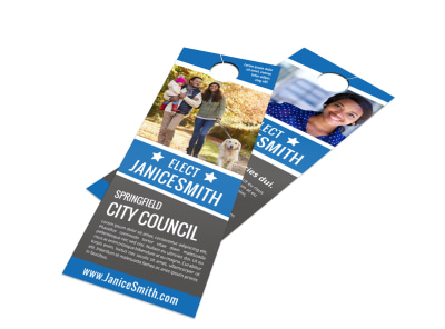 Election Door Hanger Template cbsom269am preview
