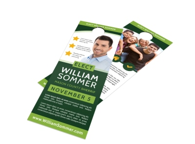 Campaign Door Hanger Template nuxzzim296 preview