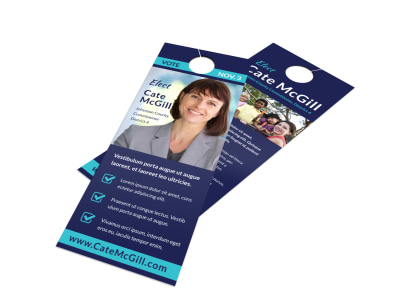Campaign Door Hanger Template tl4gh4xxkm preview