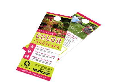 Landscaping Door Hanger Template 4h8ze18cxdx preview