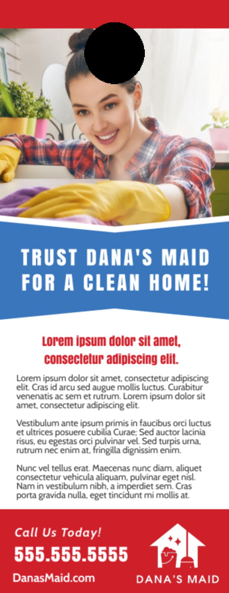 Total Clean Door Hanger Template Preview 3