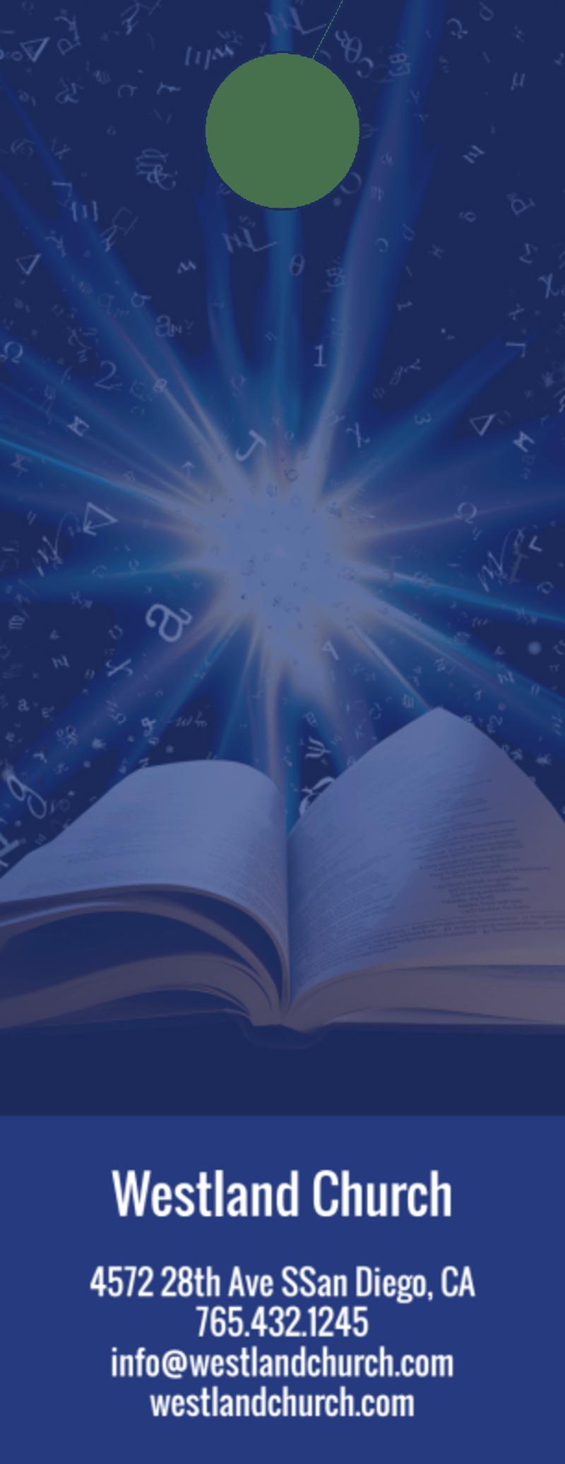 Bible Study Outreach Door Hanger Template Preview 3