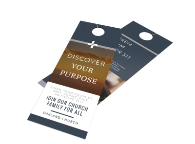 Outreach Discovery Door Hanger Template preview