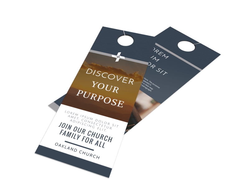 Outreach Discovery Door Hanger Template Preview 1