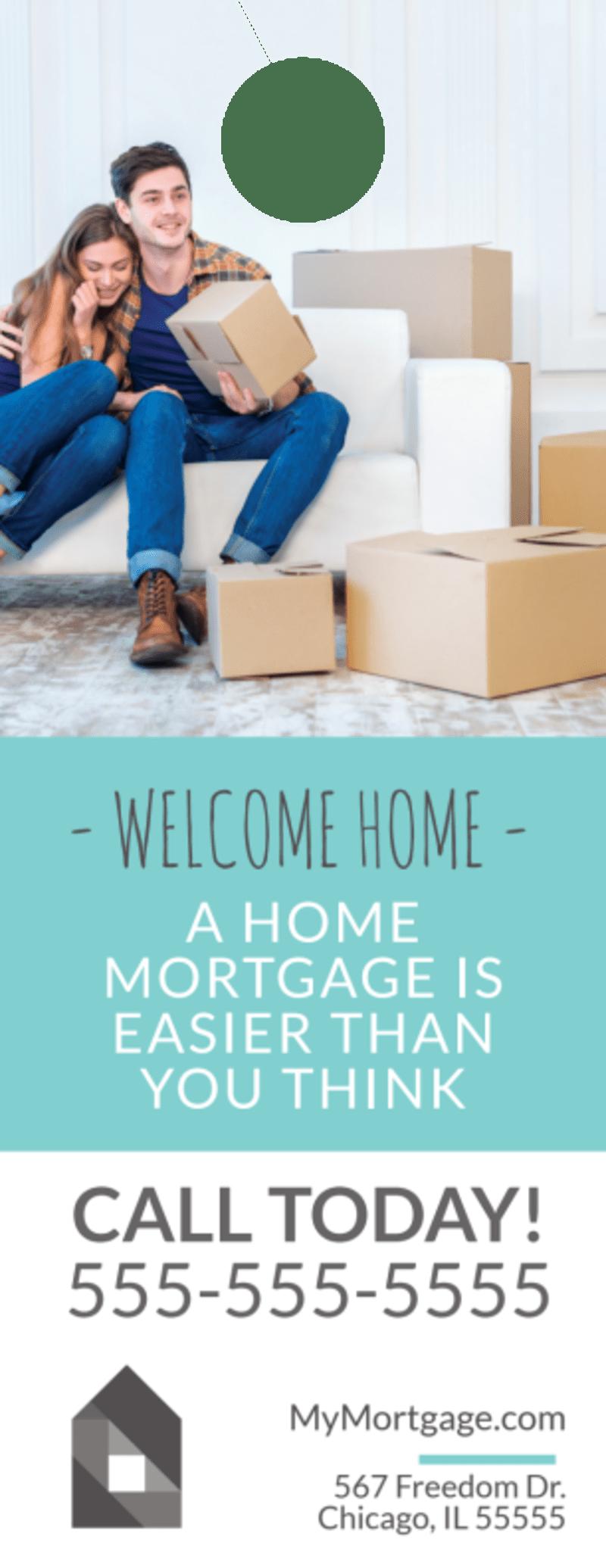 Home Mortgage Door Hanger Template Preview 2