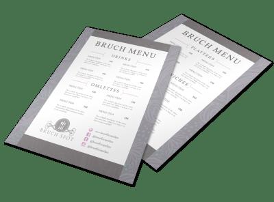 Menu Templates | Restaurants, Salons & More Template Preview