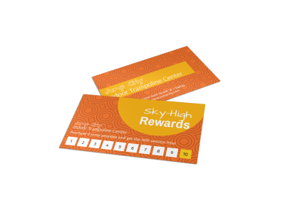 Loyalty Card Templates Template Preview