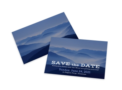 Save The Date Card Template gjps03h8xp preview