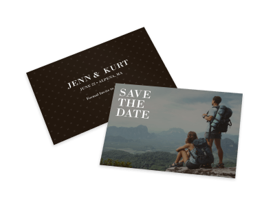Save The Date Card Templates Template Preview