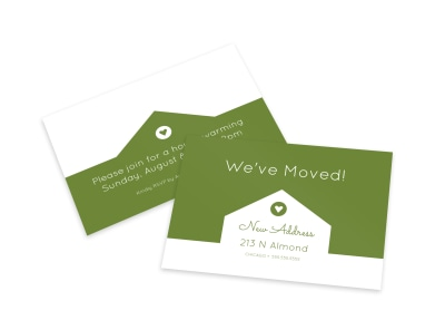 We've Moved Card Template p7t6kz91x4 preview