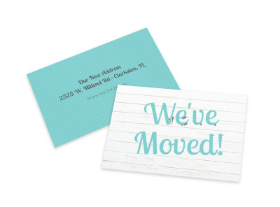We've Moved Card Template o0k0nsi85b preview