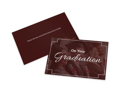 Graduation Card Template 8vkw3z1hrj preview