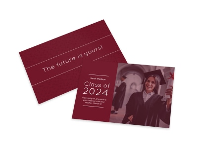Graduation Card Template 37erg1x8ss preview