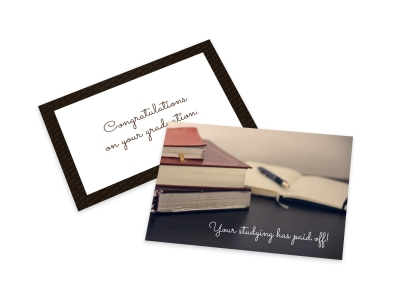 Graduation Card Template wqku0iq1nt preview