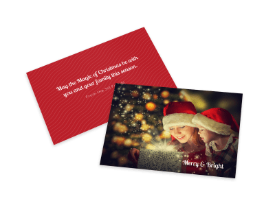 Christmas Card Templates Template Preview