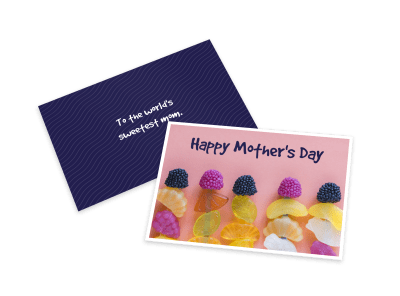 Mother's Day Card Templates Template Preview