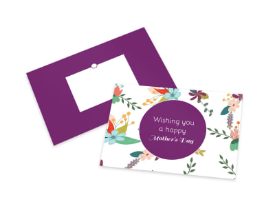Mother's Day Colorful Card Template preview