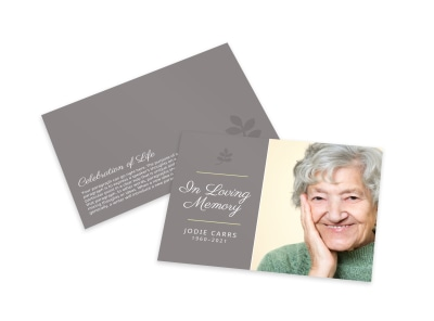 Memorial Card Template 6j2pcrt1k7 preview