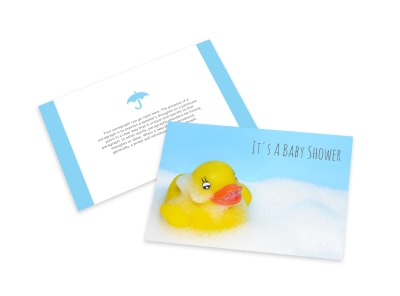 Baby Shower Card Template vesi2flwag preview