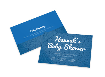 Baby Shower Card Template xdh9i4zrwb preview