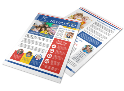 Daycare Fun Newsletter Template preview
