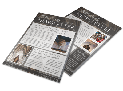 Church Newsletter Templates Template Preview