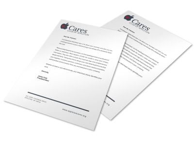 Simple Letterhead Template preview