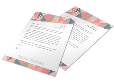 Letterhead Template k1c6g7ie6k preview