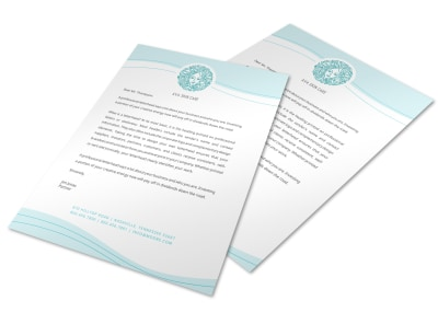 Letterhead Template yh9ktpb7kw preview