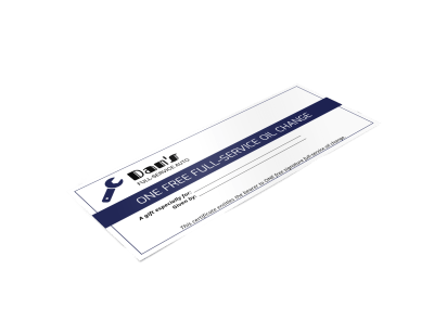 Gift Certificates Template Preview