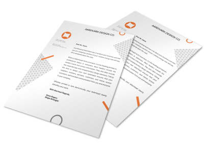 Letterhead Template q498jp28hx preview