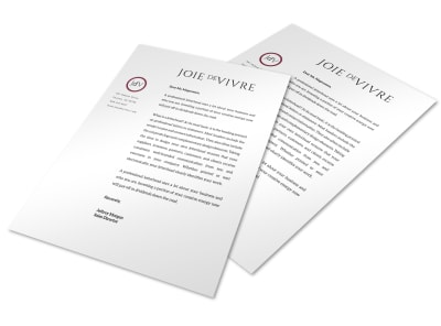 Letterhead Template sxwhbavdtl preview