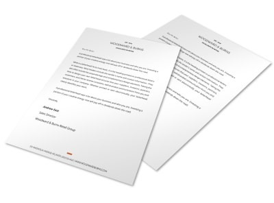 Letterhead Template xd82w2fv4x preview