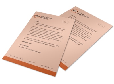 Letterhead Template 6jfb9xf45g preview
