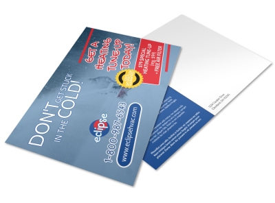 HVAC Postcard Template wgxuu0c542 preview