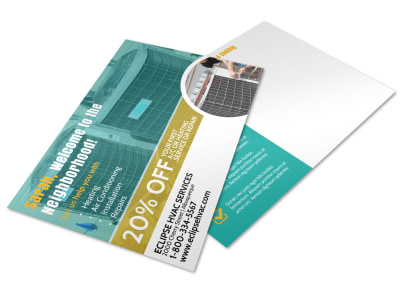 HVAC Postcard Template 2d5pdl7yrz preview