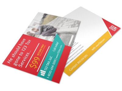 Tax Postcard Template 6oe14o8fhx preview