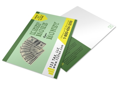 Tax Prep Postcard Template 4l1uqucwo8 preview