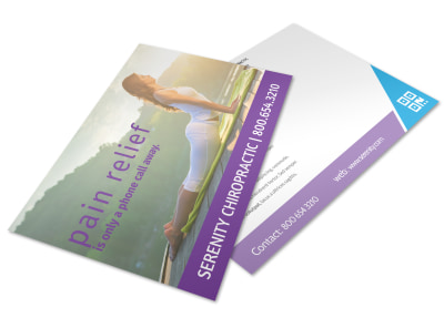 Chiropractic Postcard Template hnnxsed493 preview