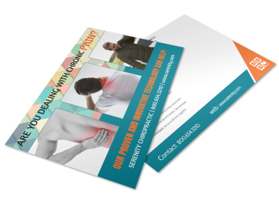 Chiropractic Postcard Template 1yq8317rxa preview