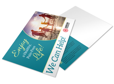 Chiropractic Postcard Template sm10y2mcxb preview