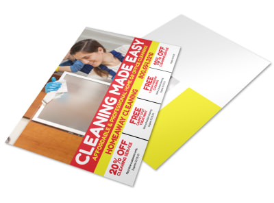 House Cleaning Postcard Template 2bh85xi57m preview