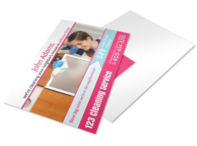 House Cleaning Postcard Template w2ruaghjp2 preview
