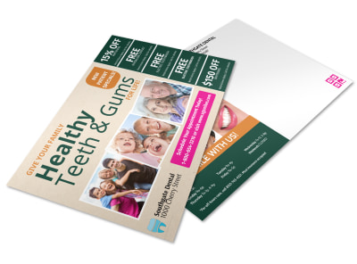 Dental Postcard Template pfawkxt057 preview