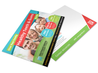 Dental Postcard Template 6t5bt146gz preview