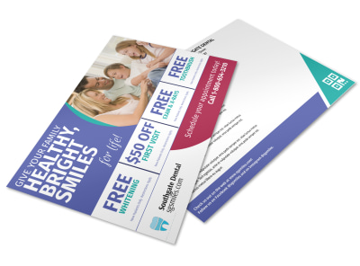Dental Postcard Template yefervy5zn preview