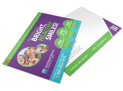 Dental Postcard Template 1vrn211taq preview