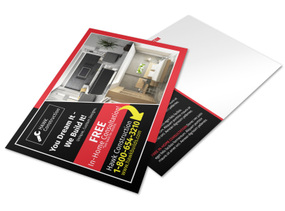 Home Inspection Postcard Template dd71og06ji preview